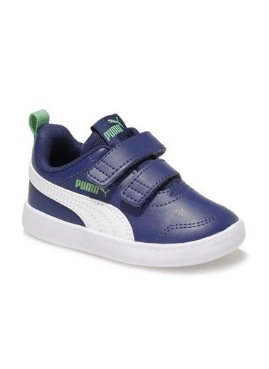 Puma Courtflex V2 V Inf Erkek Çocuk Sneaker Mavi